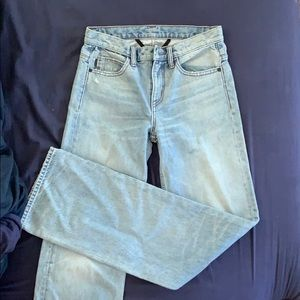 Helmut Lang STRAIGHT FLARE jeans